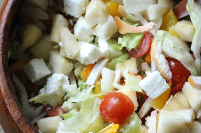 salade met feta & peer