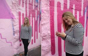 pink wall rotterdam